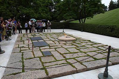 Respect Photograph - Eternal Flame - Arlington National Cemetery - 01131 by DC Photographer