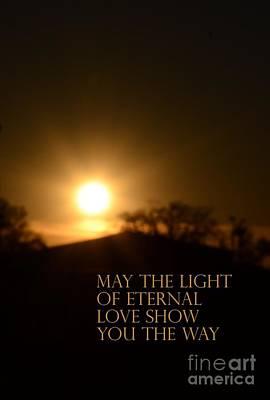 Photograph - Eternal Light by Maria Urso