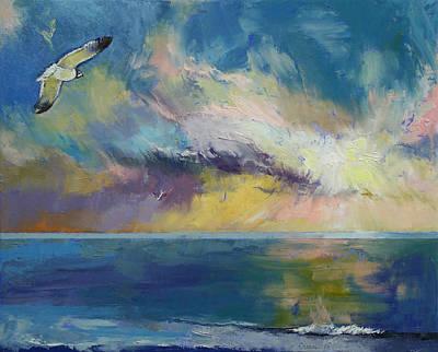 Eternal Painting - Eternal Light by Michael Creese