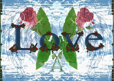 Digital Art - Love by Asegia