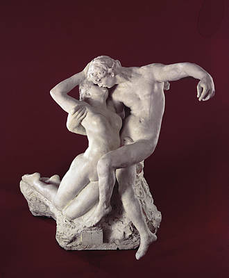 Couple Making Love Photograph - Eternal Springtime by Auguste Rodin