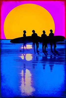 Eternal Summer Art Print by Lisa Knechtel