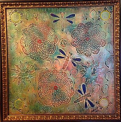 Painting - Eternal Sun By Alfredo Garcia  by Alfredo Garcia