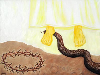 Painting - Eternal Triumph by Sandra Yegiazaryan