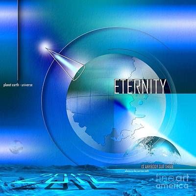 Creation Digital Art - Eternity by Franziskus Pfleghart