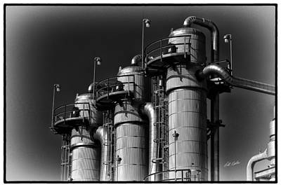 Photograph - Ethanol Processing Plant by Bill Kesler