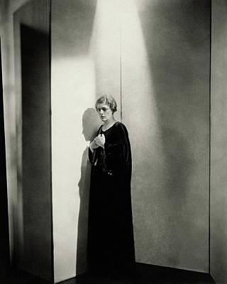 Screen Photograph - Ethel Barrymore As Ophelia In Hamlet by Edward Steichen