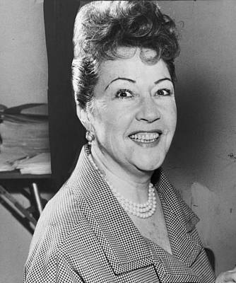 Ethel Merman Photograph - Ethel Merman 1953 by Mountain Dreams