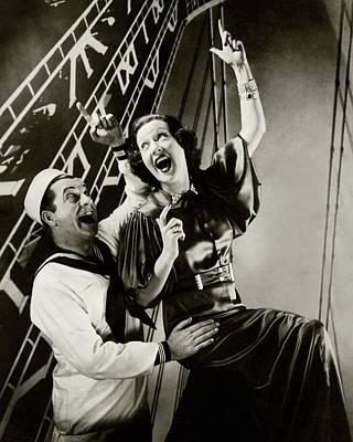 Ethel Merman Photograph - Ethel Merman And William Gaxton by Edward Steichen