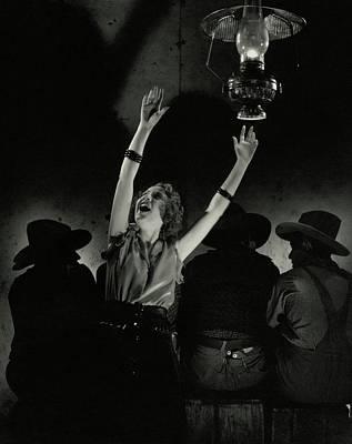 Ethel Merman In The Play Girl Crazy Art Print