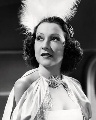 Ethel Merman Photograph - Ethel Merman by Silver Screen
