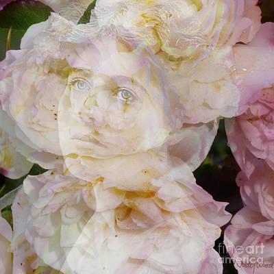 Edwardian Woman Digital Art - Ethel Rose by Judy Wood