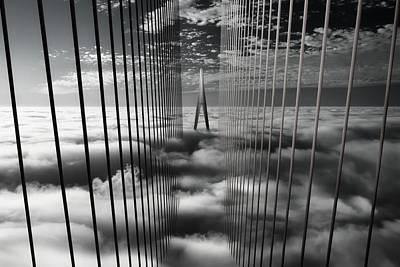 Bridge Photograph - Ethereal Land Mark by Dr. Akira Takaue