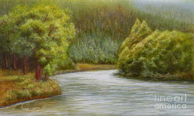 Painting - Ethereal River by Lora Duguay