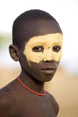 Ethiopia Boy Art Print
