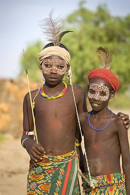 Ethiopia Boys Art Print