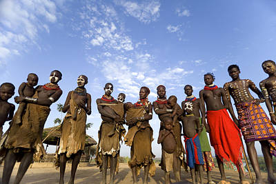 Ethiopia Groups Art Print
