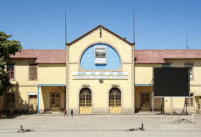 Photograph - Ethiopia To Djibouti Railway Station In Dire Dawa Ethiopia by Jacek Malipan