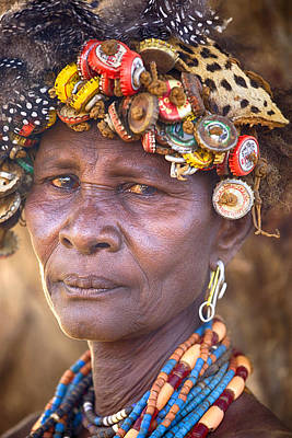 Ethiopia Women Art Print