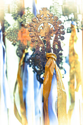 Photograph - Ethiopian Crosses - Epiphany Sunday by Ronda Broatch