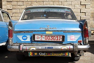 Photograph - Ethiopian Taxi In Harar Ethiopia by Jacek Malipan