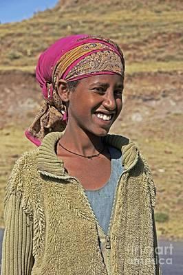 Ethiopian Woman Art Print by Brian Gadsby