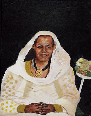 Ethiopian Woman Print by Jeremy Phelps