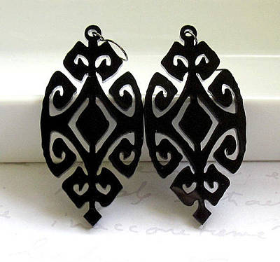 Perspex Jewelry Jewelry - Ethnic Design Earrings by Rony Bank