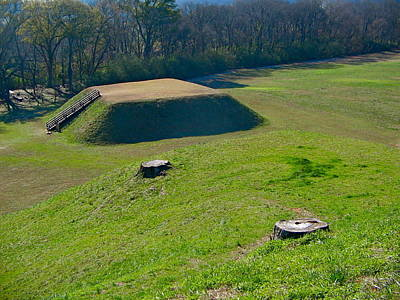 Photograph - Etowah Indian Mounds by Denise Mazzocco