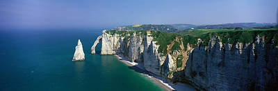 Etretat, Normandy, France Art Print by Panoramic Images