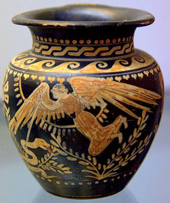 Photograph - Etruscan Vase I by Caroline Stella