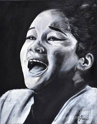 Etta James Painting - Etta James by Annalise Kucan