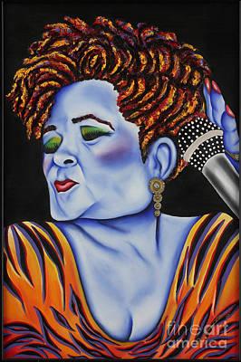 Painting - Etta by Nannette Harris