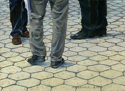 Painting - Etude En Gris by Marguerite Chadwick-Juner