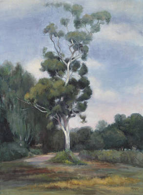 Wall Art - Painting - Eucalyptus by Terry Guyer