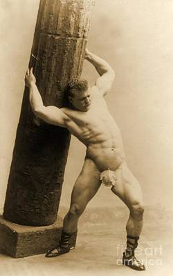 Nudes Photograph - Eugen Sandow by American School