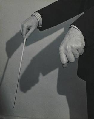 Conductor Photograph - Eugene Ormandy's Hands by Herbert Matter