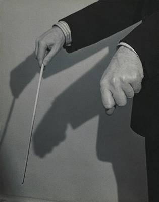 Eugene Ormandy's Hands Art Print by Herbert Matter