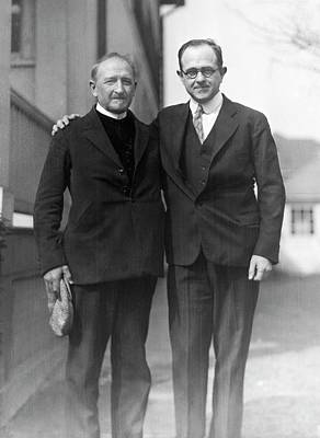 Eugenics Photograph - Eugenicists Mjoen And Whitney by American Philosophical Society