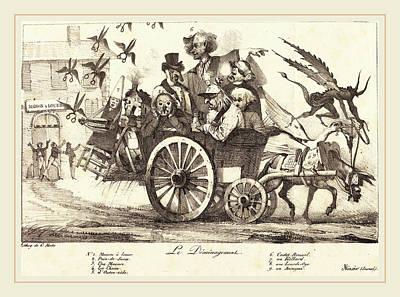 Eugène Delacroix French, 1798-1863, Le Déménagement De Print by Litz Collection