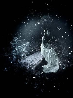 Nymphe Photograph - Euphoria... Fairy by Maria Drefahl