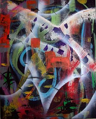 Painting - Euphoria by Yul Olaivar
