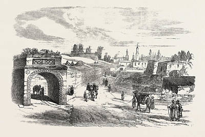 Aleppo Drawing - Euphrates Valley Route To India Aleppo by English School
