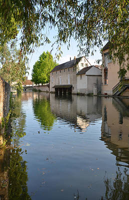 Eure River In Chartres Art Print by RicardMN Photography