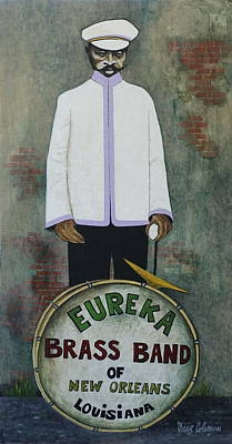 Eureka Brass Band Art Print by Dave Coleman
