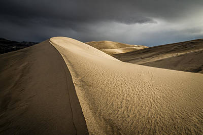 Photograph - Eureka Dunes by Cat Connor