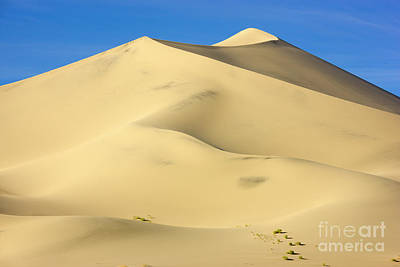 Photograph - Eureka Dunes Death Valley Natl Park by Yva Momatiuk John Eastcott