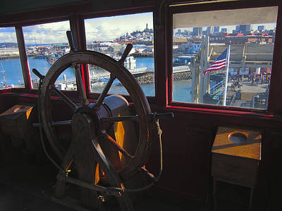 Eureka Ferry Wheelhouse Print by Daniel Hagerman