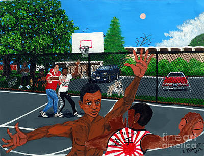 Painting - Eureka Park Throwback by Edward Fuller