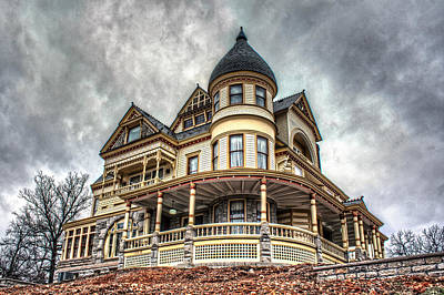 Eureka Springs Photograph - Eureka Springs Victorian by Corey Cassaw